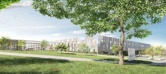 Futur Centre Jean Bernard et siège du groupe ILC